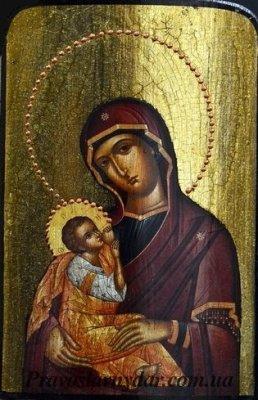 Дорожная икона Богородица Кормилица